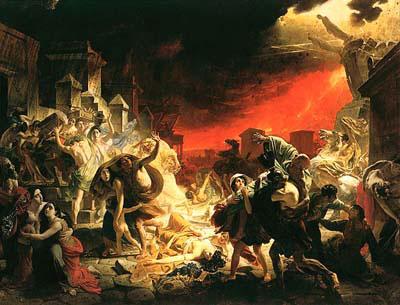 Извержение вулкана Помпеи