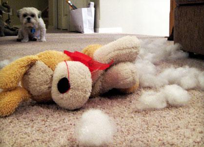 игрушки щенка